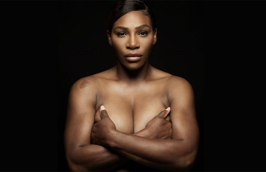 Serena william topless